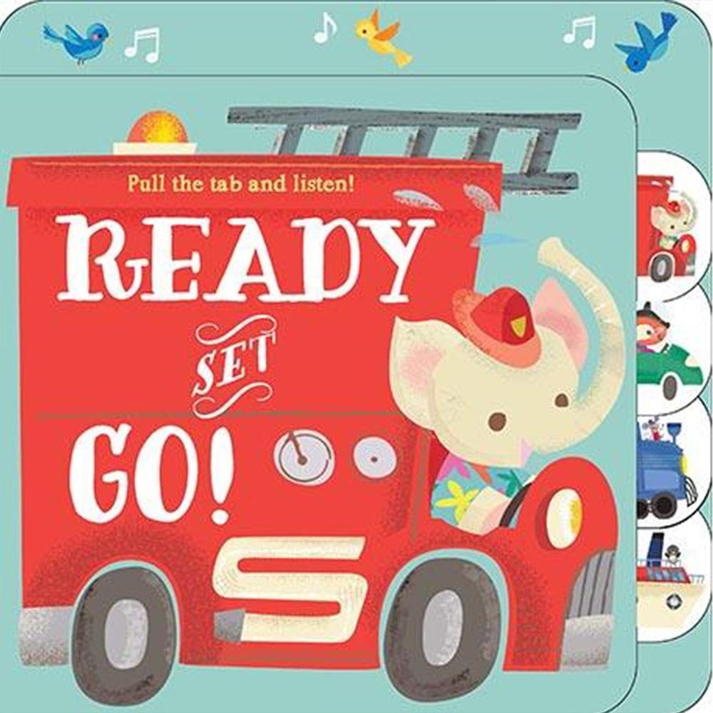 Ready Set Go 推拉有聲書:交通工具篇