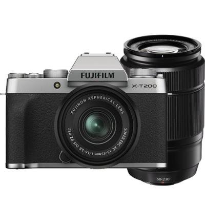FUJIFILM X-T200 15-45mm+50-230mm 雙鏡組(公司貨)
