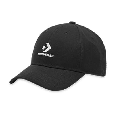 CONVERSE 可調整式棒球帽 中 黑