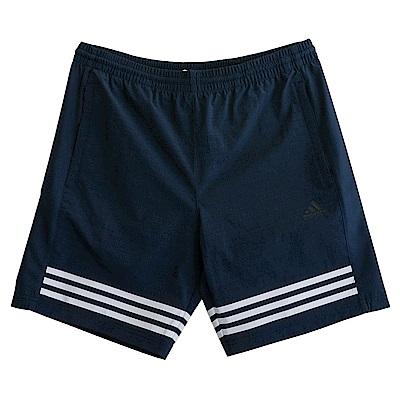 Adidas SHORT WV 3S-運動短褲-男 @ Y!購物