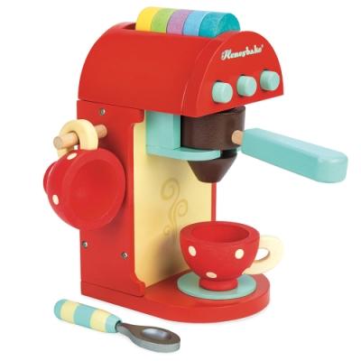 英國 Le Toy Van 角色扮演系列-時尚膠囊咖啡機玩具組