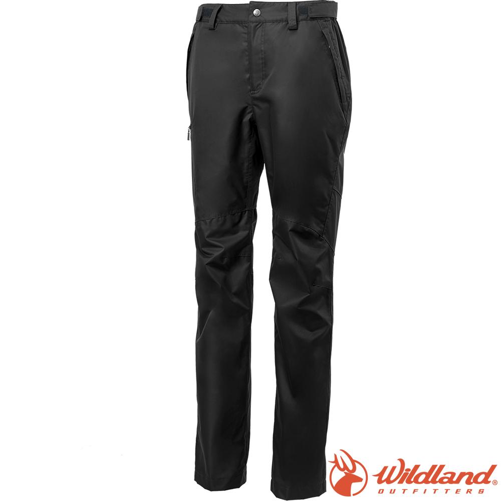 Wildland 荒野 W2329-54黑色 女防水防風保暖長褲
