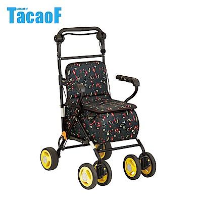 日本TacaoF幸和 標準款助步車SIST01型 -花漾黑