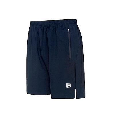 FILA 男抗UV平織短褲-丈青 1SHS-5302-NV
