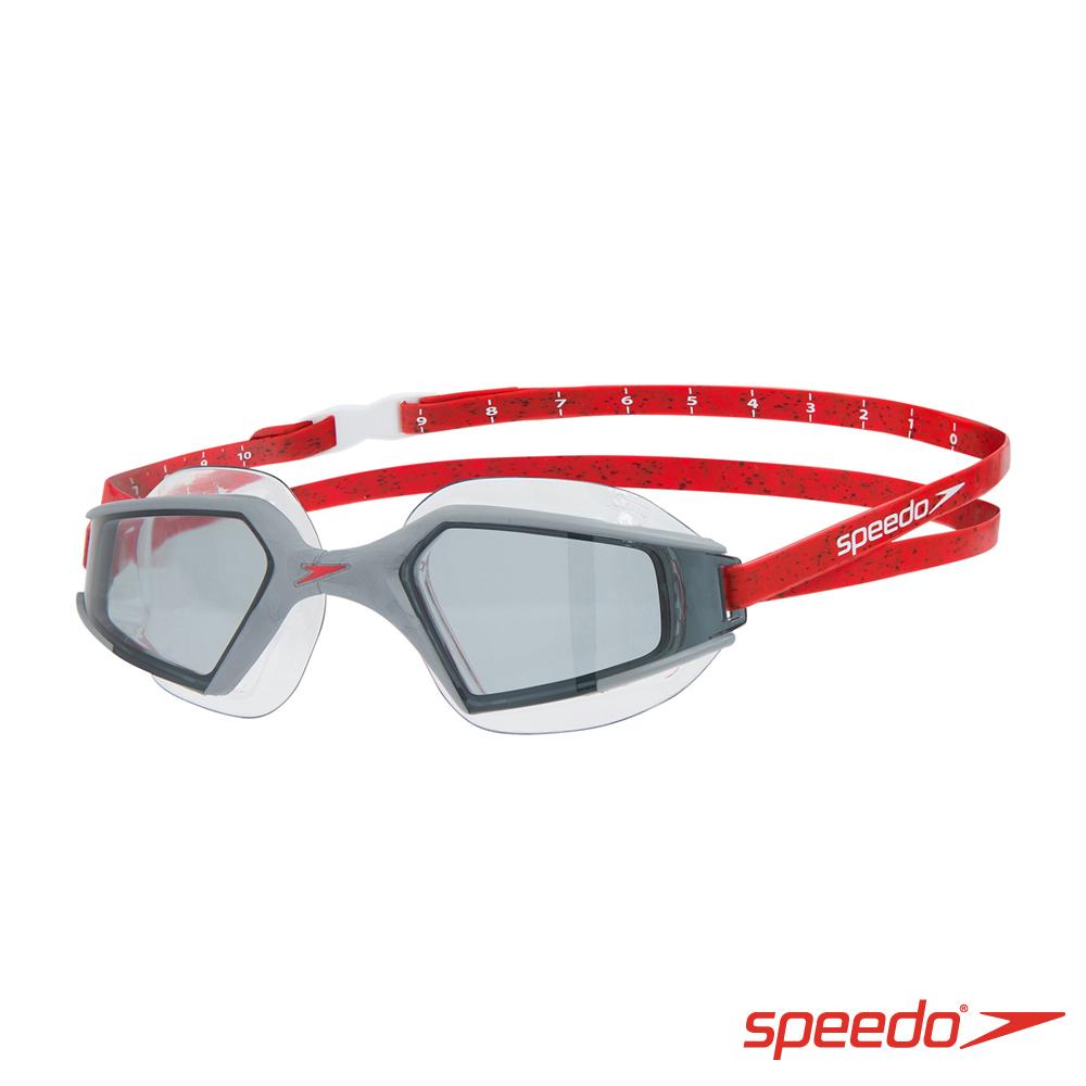 SPEEDO 成人進階泳鏡 Aquapulse Max 2 熔岩紅