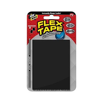 美國FLEX TAPE強固型修補膠帶 迷你隨手包-黑色 7.65cm x 10.2cm