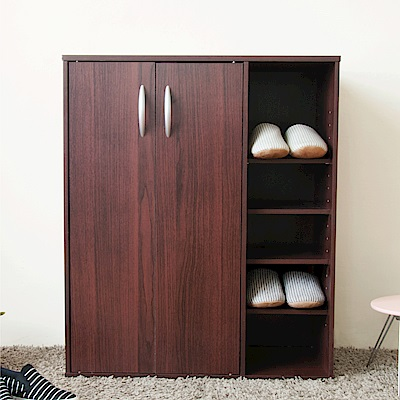 《HOPMA》DIY巧收二門五格鞋櫃