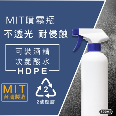 (6入/組) 噴霧瓶 500ML/HDPE 28牙 方槍噴頭