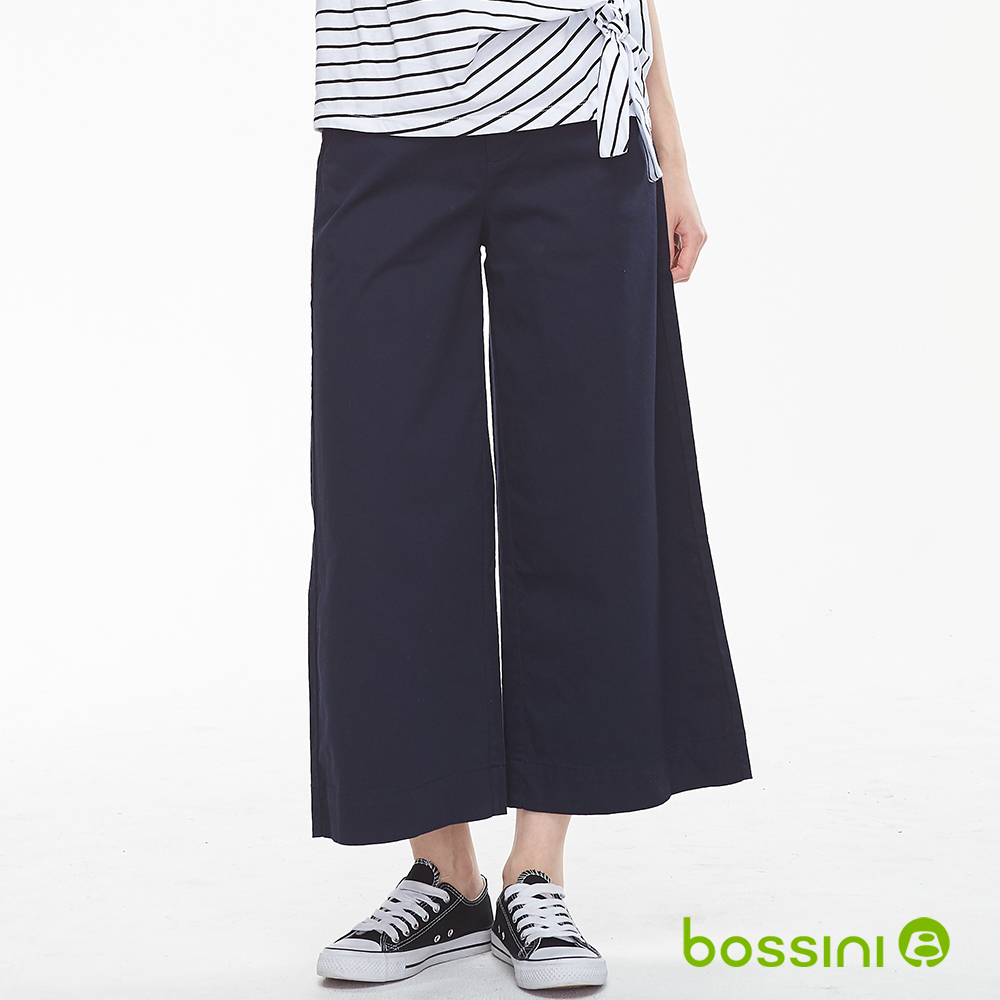 bossini女裝-彈性修身褲-寬褲09葡萄色