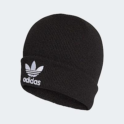 adidas 保暖毛帽 Trefoil Beanie 男女款