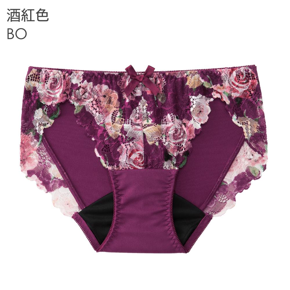 aimerfeel 單品內褲 古典風格 玫瑰 生理褲 單品內褲-605029-BO