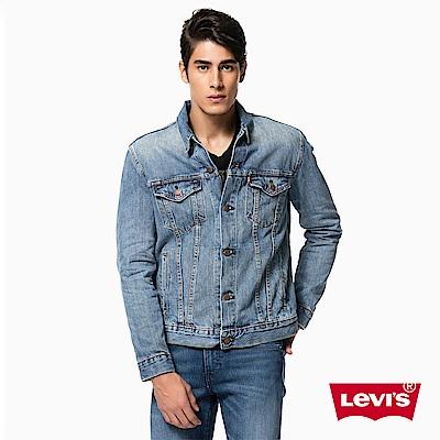 Levis 牛仔外套 男裝 Type 3 經典延續款 淺色水洗 修身版型