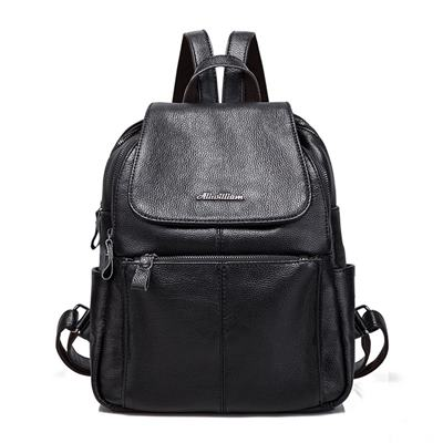 玩皮工坊-真皮牛皮可裝A4雜誌大容量雙肩包後背包肩背包書包女包-LB197