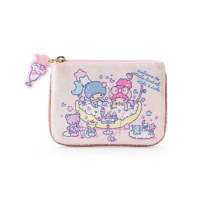 Sanrio 雙星仙子沐浴午茶系列PU皮革面紙化妝包