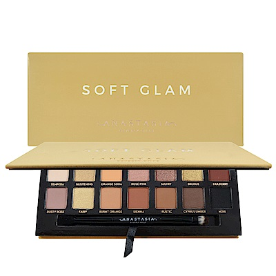 Anastasia Beverly Hills Soft Glam  14 色眼影盤