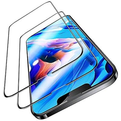透明殼專家iPhone 13 Pro 窄邊框玻璃保護貼 2枚入