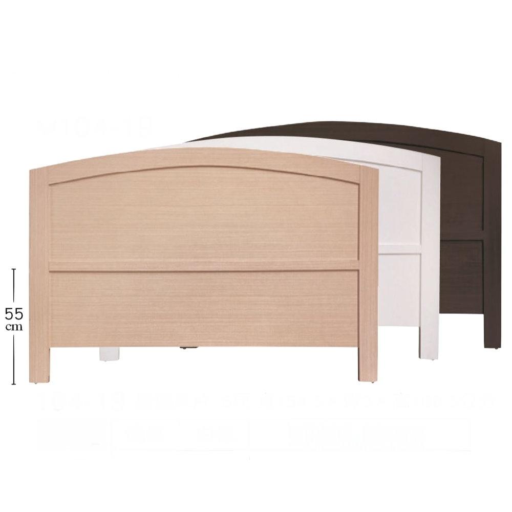 MUNA 豪邁5尺床頭片(共三色) 154.5X3X106.5cm