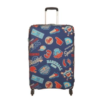 【OUTDOOR】行李箱保護套-棒球-L ODS19B03LBB