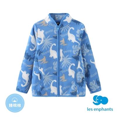 【麗嬰房】EASY輕鬆系列  小童印花外套-藍色(86cm~130cm)
