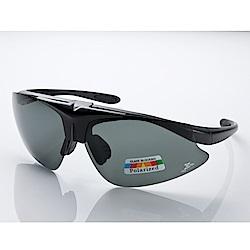 【Z-POLS】專業可掀設計 霧黑框搭載抗UV400寶麗來偏光運動眼鏡