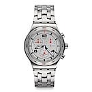 Swatch SILVER AGAIN 銀色鐫刻手錶