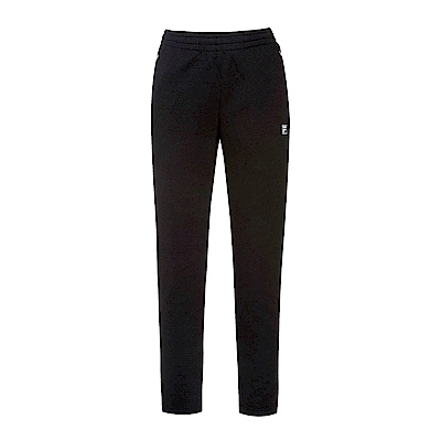 FILA 女款針織長褲-黑 5PNS-5319-BK