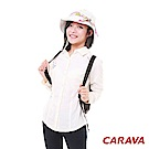 CARAVA《女款日本原紗快乾排汗襯衫》(米白)