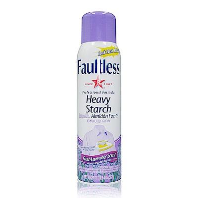 美國 Faultless 強效噴衣漿-紫蓋薰衣草香(567g/20oz)