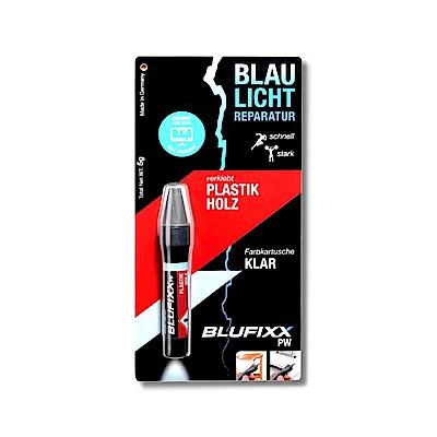 德國BLUFIXX 藍光固化膠/補充膠- 輕質型透明色  德國製
