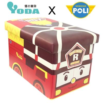 YoDa 救援小英雄波力收納箱/玩具收納箱-ROY