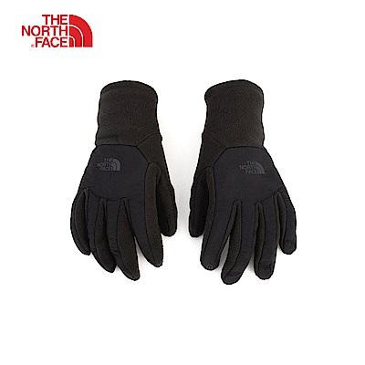 The North Face北面男款黑色舒適保暖可觸屏手套|3KP5JK3