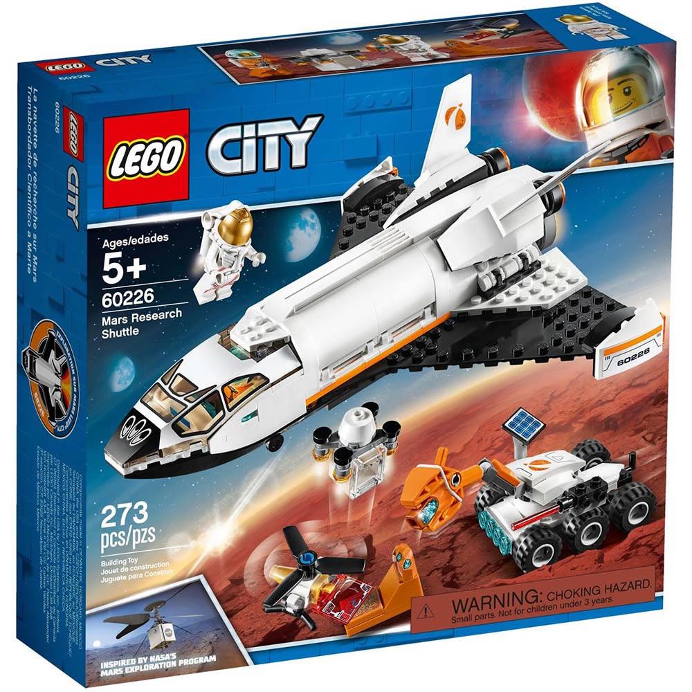 樂高LEGO 城市系列 - LT60226 火星探究太空梭