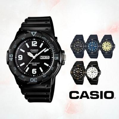 CASIO卡西歐 DIVER LOOK潛水風丁字面(MRW-200H)