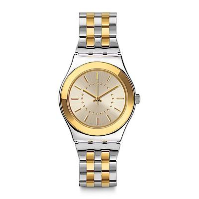 Swatch GOLDENSILVER 永恆經典手錶