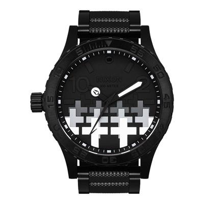 NIXON  MASTER 搖滾十字狂野時尚腕錶(A12463105)-51mm
