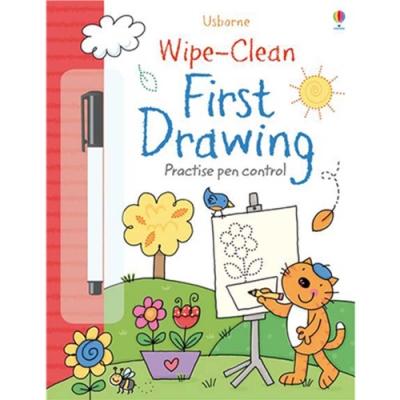 Wipe-Clean First Drawing 可擦拭練習本:描描看