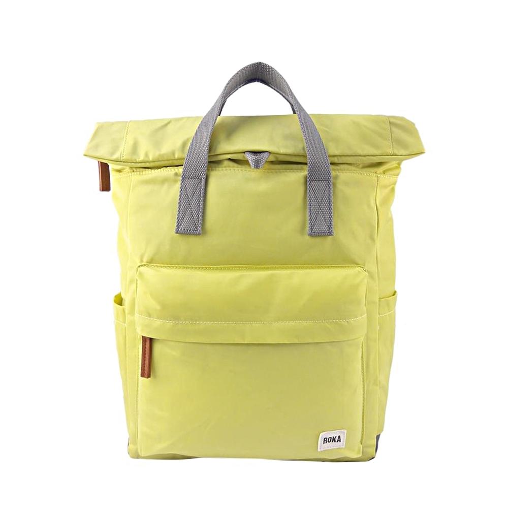 ROKA Canfield B「通勤者」手提肩背兩用後背包(小) 沁涼檸檬