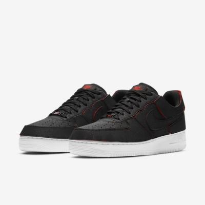 Nike 休閒鞋 AF1 1 可拆式 運動 男鞋 造型拼貼 經典款 穿搭 簡約 球鞋 黑 橘紅 DD2429001