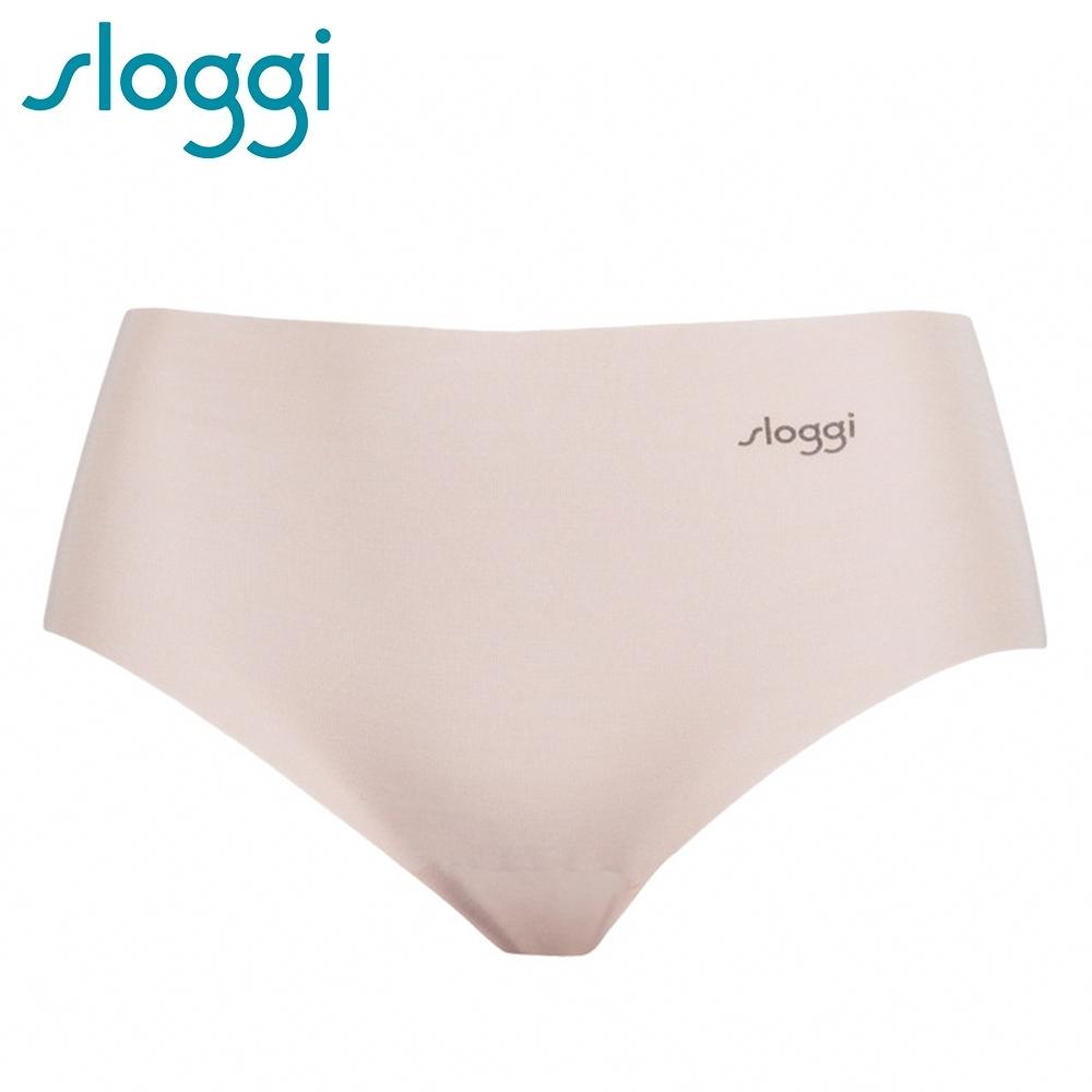 sloggi ZERO Modal 零感波浪型平口無痕褲 濃醇花生醬 76-1167 3L