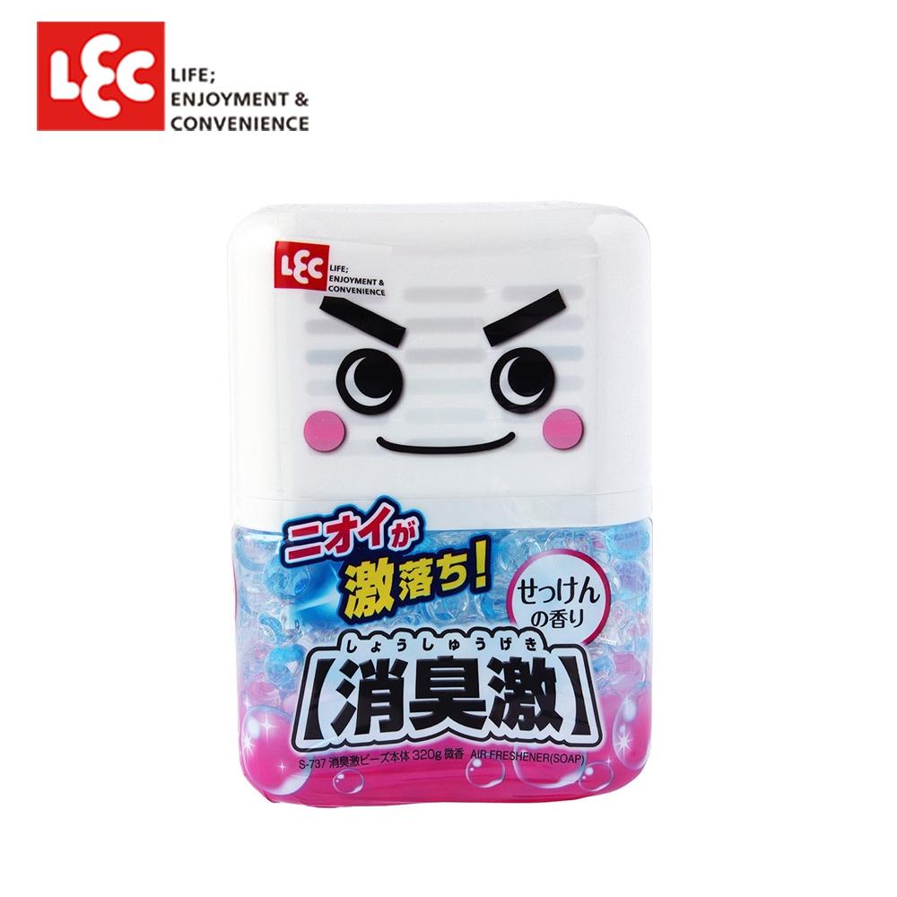 日本LEC 激落消臭激(微香) 320g