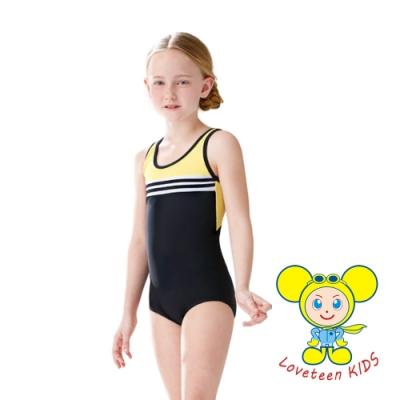 夏之戀 LOVETEEN KIDS女童連身三角泳衣