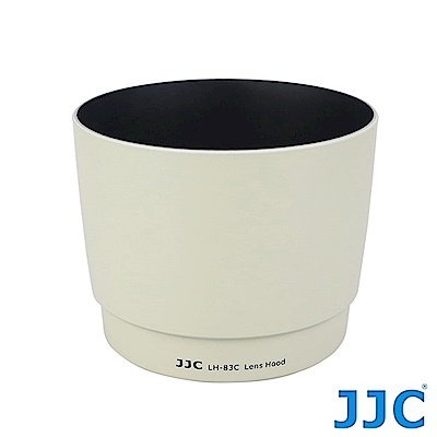 JJC副廠Canon遮光罩LH-83C(W)白色相容佳能原廠遮光罩ET-83C適EF 100-400mm F4.5-5.6L IS USM