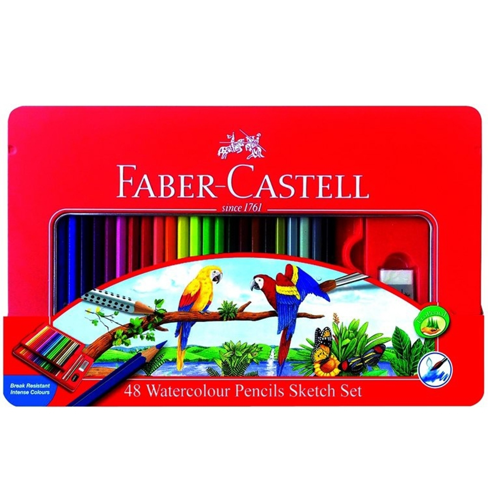 【Faber-Castell】115939 48色水性色鉛筆
