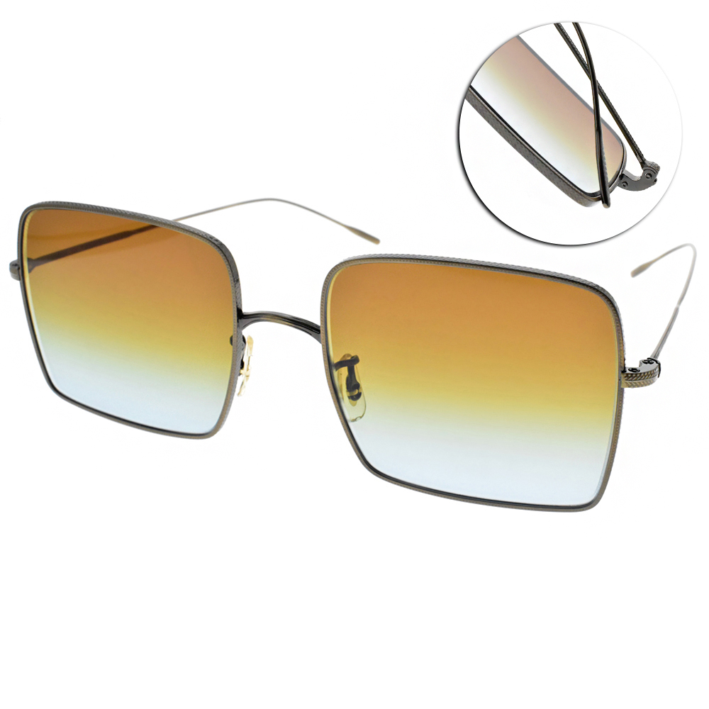 OLIVER PEOPLES太陽眼鏡 熱銷方框/銅 #RASSINE  52845D