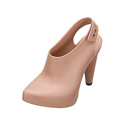 MELISSA 摩登女郎造型跟鞋-粉紅
