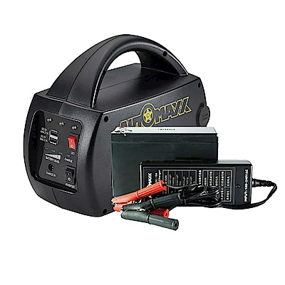 AUTOMAXX DC/AC專業級手提式行動電源+電池補充包 UP-5HA+5HB