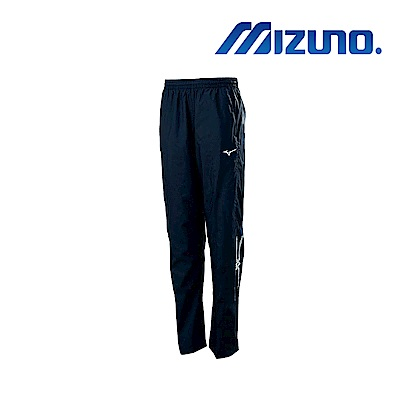 Mizuno 美津濃 男風衣套裝長褲 深丈青 32TF859214