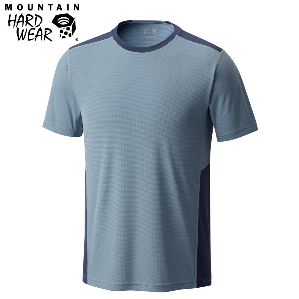 Mountain Hardwear 男款-快排短袖T恤-灰色 MOM01630GY