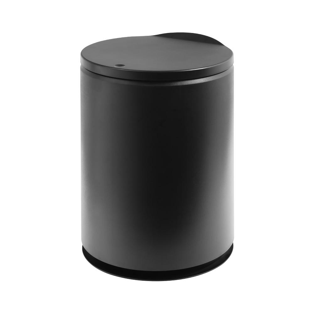 TRENY 日式圓形垃圾桶 -黑