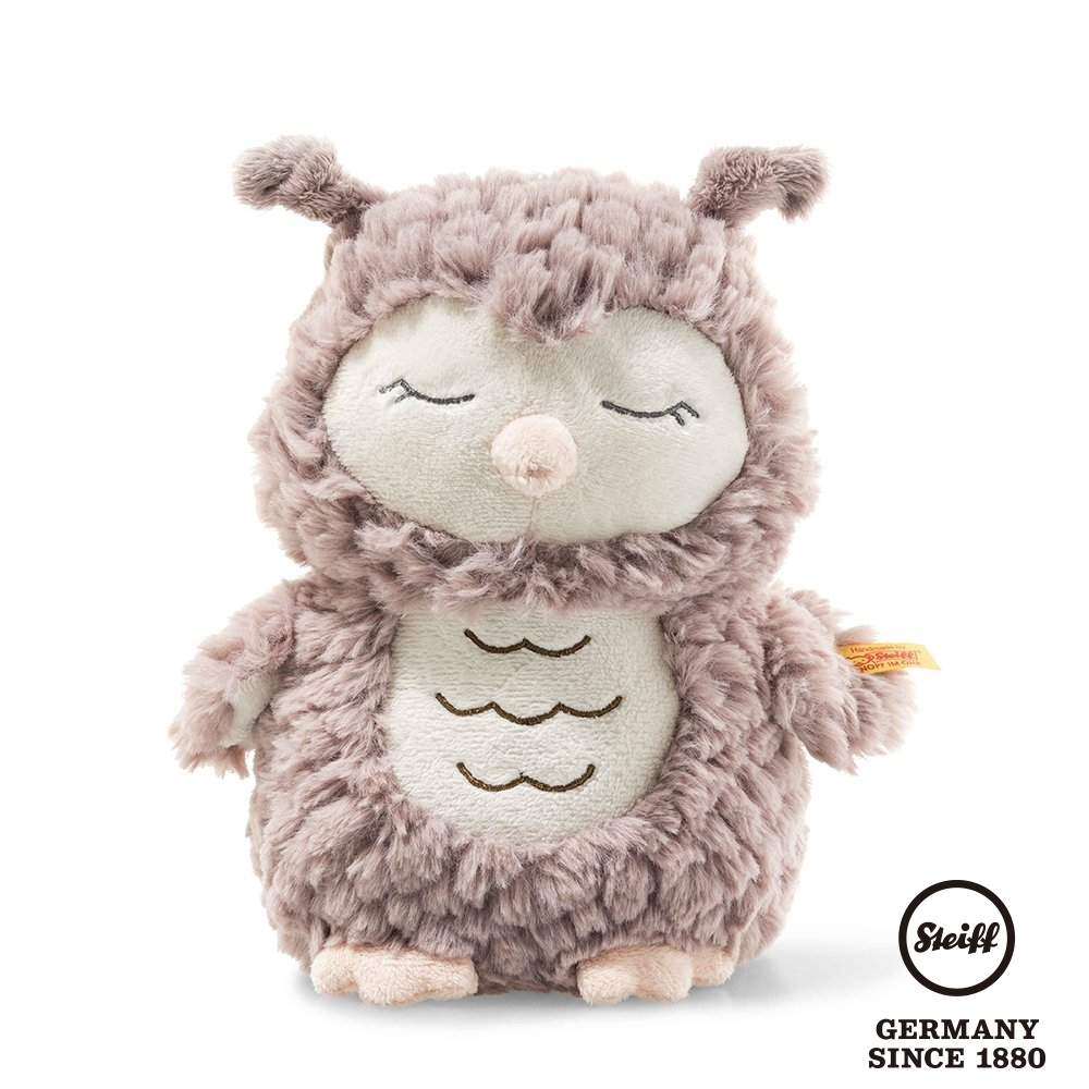 STEIFF德國金耳釦泰迪熊 -Ollie Owl 23cm (北鼻玩偶)
